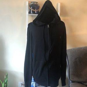 ALL SAINTS merino hoodie